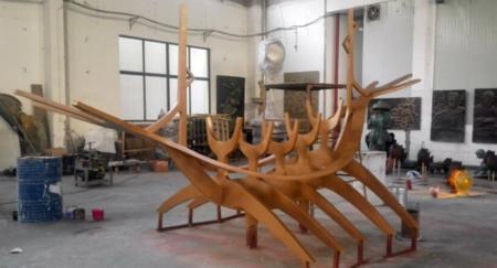不锈钢锻造雕塑
